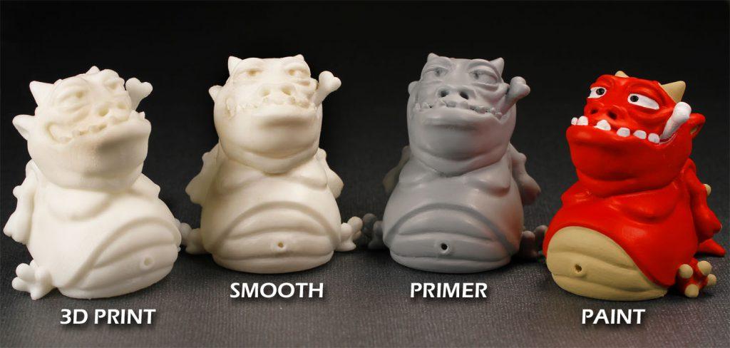 Stampa e Finitura 3D